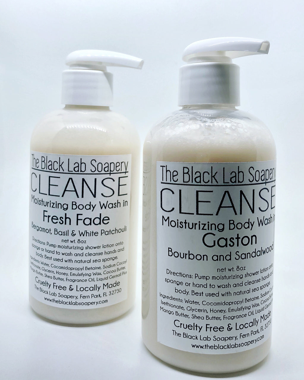 CLEANSE - Cream Body Wash - The Black Lab Soapery