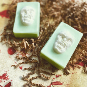 Zombie Collection - Zombie Goo Glow Soap - The Black Lab Soapery