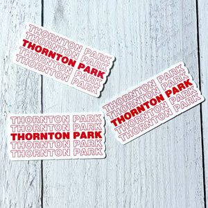 STICKER - Thornton Park - The Black Lab Soapery