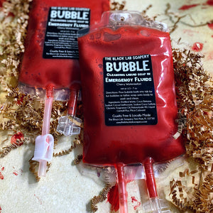 Zombie Collection - Emergency Fluid Liquid Soap - The Black Lab Soapery