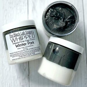 WHIPPED - Sugar Scrub Soap - Winter Park - The Black Lab Soapery