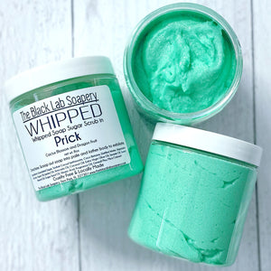 WHIPPED - Sugar Scrub Soap - Prick - The Black Lab Soapery