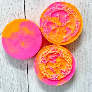 CLEANSE - Exfoliating Luffa Soap -  Starburst - The Black Lab Soapery