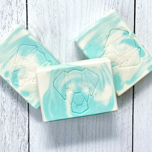 CLEANSE - Cold Process Cleansing Bar Soap - Mojito - The Black Lab Soapery