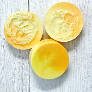 CLEANSE - Exfoliating Luffa Soap - Peach Mimosa - The Black Lab Soapery
