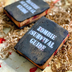 Zombie Collection - Zombie Survival Guide Bubble Bar - The Black Lab Soapery