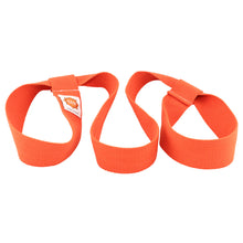 Load image into Gallery viewer, yoga mat strap in orange