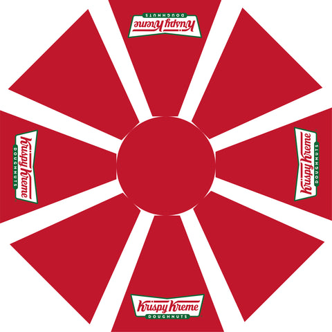 Krispy Kreme 7.5 doughnuts rendition RED