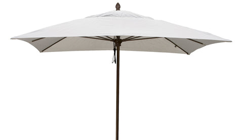 Fiberbuilt 7.5' Square Riva Heavy Duty Market Umbrella