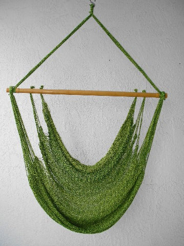 """Mombacho Chair"" - PALM (Green & Yellow) Hammock Chair"