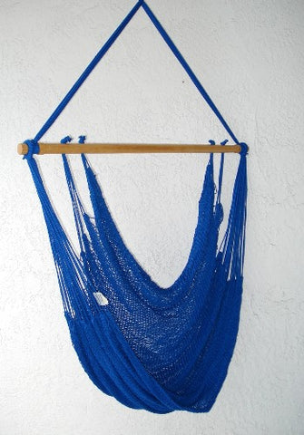 """Mombacho Chair"" - ROYAL-BLUE  Hammock Chair"