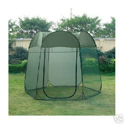 Frikon 8' x 8' Hex Pop Up Screen Room -