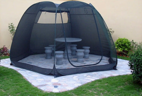 Frikon Deluxe Hexagonal Screen Room - Mosquito Net Tent
