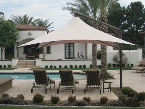 Skyspan Vista 12' Square Umbrella