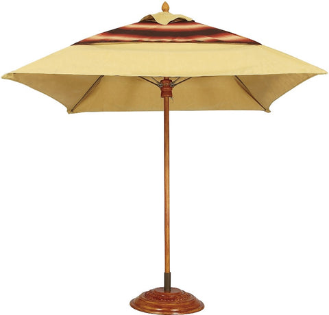 Fiberbuilt Diamante 6' Square Commercial Umbrella