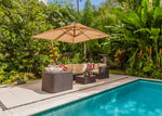 Miami Cantilever Umbrella 10' x 10' by Feruci