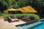 "Shademaker Sirius 8'8"" Square Cantilever Umbrella"