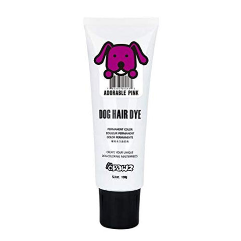 Owpawz Dog/Pet Hair Dye Gel Bright, Fun Shade, Semi-permanent and Permanent Dye, Completely Non-toxic Safe for Dogs, Multiple Colors Available