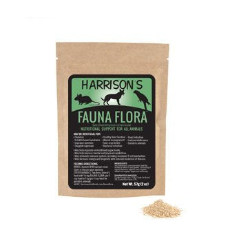 Harrison's Fauna Flora 2 Oz. A Source of Live, Naturally Occurring Enzymes for Birds