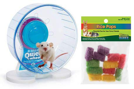 Mouse Wheel: 6 Inch Prevue Quiet Wheel with Bearings Bundled with Ware Rice Pops