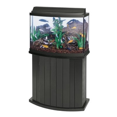 All Glass Aquarium AAG55003 Pine Cabinet, 36bf