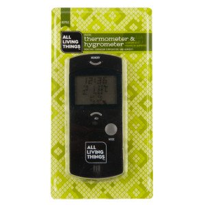 All Living Things® Reptile Habitat Thermometer & Hygrometer