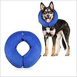 Dog Cone Collar Soft - Soft Pet Recovery E-Collar Cone Small Medium Large Dogs, Designed to Prevent Pets from Touching Stitches