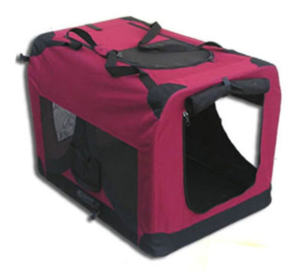 Costdot 3001L Foldable Comfort Pet Dog Carrier Camping Crate, 28""