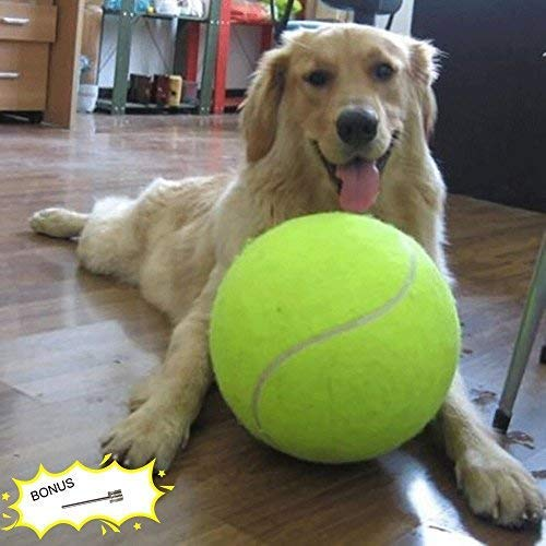 "Banfeng Giant 9.5"" Dog Tennis Ball Large Pet Toys Funny Outdoor Sports Dog Ball"