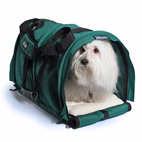 SturdiBag Extra Large Flexible Height Pet Carrier Divided for 2 Pets