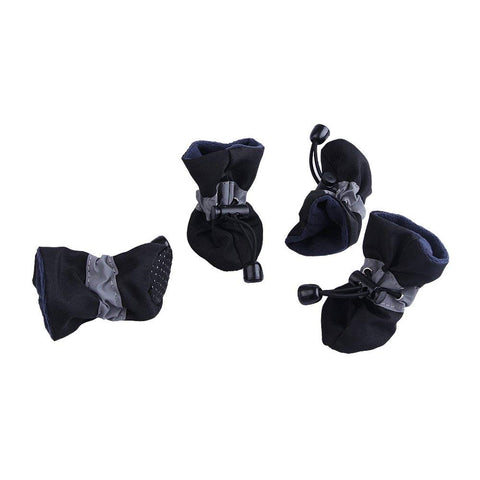 Royal Wise Dog Boots Soft Pet Paw Protector Anti-Slip Dog Shoes for Small to Large Dogs S to XL All Seasons Pet Booties