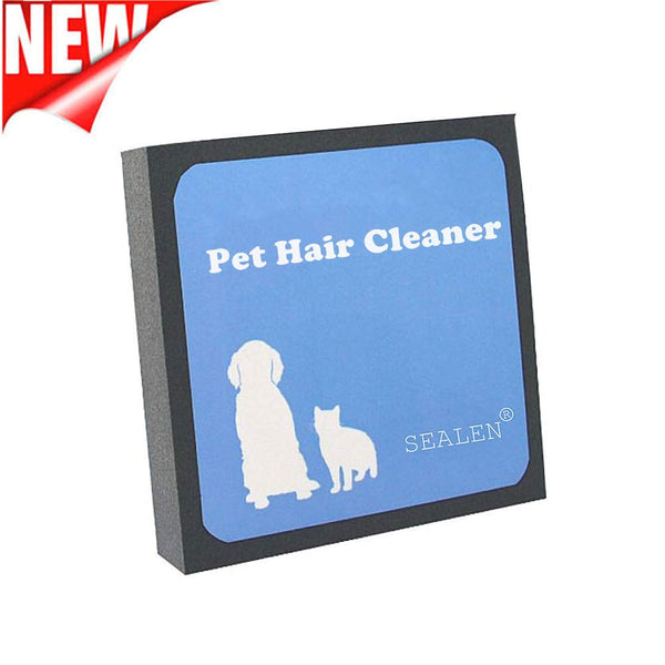 SEALEN Pet Hair Cleaner, Reusable Hair Fur Remover for Pet Dogs Cats,Magic Pet Hair Foam Block Erasing for Furniture Bedding Carpets Car Seats Clothin