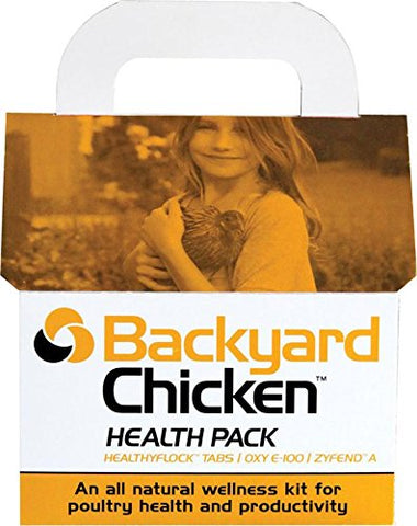 Dbc Agricultural Prdts 018629 Backyard Chicken Health Pack