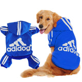 Scheppend Adidog Pet Clothes for Dog Cat Puppy Hoodies Coat Winter Sweatshirt Warm Sweater Dog Outfits