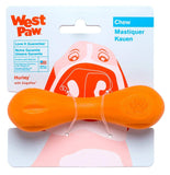 West Paw Zogoflex Hurley Durable Dog Bone Chew Toy for Aggressive Chewers, 100% Guaranteed Tough, It Floats!, Made in USA, for Strong Chewers