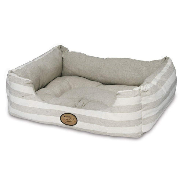Best Pet Supplies - Premium Faux Leather Polyester Filled Plush Square Bed
