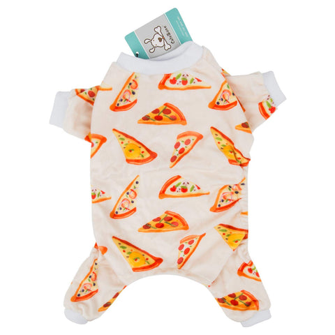CuteBone Dog Pajamas Banana/Strawberry Dog Apparel Dog Jumpsuit Pet Clothes Pajamas P060230
