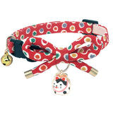 PetSoKoo Bowtie Cat Collar with Bell. Bowknot with Cute Cat Pendant. Safety Breakaway.
