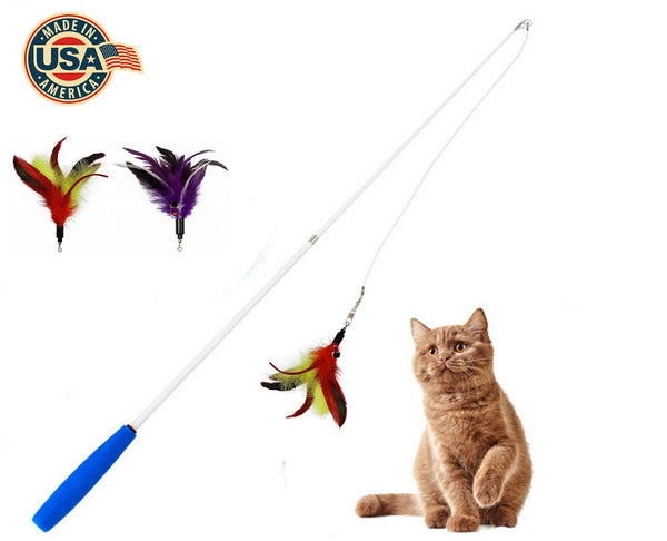 Atlantic Funny Cat Feather Toy Cat Mint Toy Cat Pointer Cat Interactive Toy