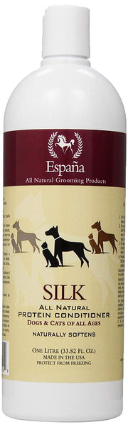 Espana Silk ESP1000DC Specially Formulated Silk Protein Conditioner for Dogs and Cats