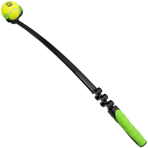 Franklin Pet Supply Ready Set Fetch Ball Launcher - Tennis Balls - Play Fetch - Easy Throw
