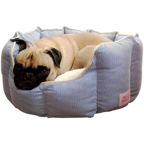 Good Life Solutions Premium Quality Washable Luxury Pet Bed, Small Breed Dog Bed or Cat Bed, Pet Beds with Therapeutic Cushion for Puppies and Kittens