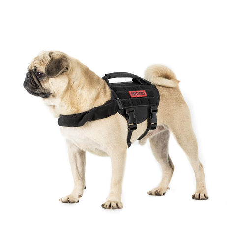 OneTigris Small Dog Vest Beast MOJO Tactical Dog Harness with Durable Vertical Handle for Small Puppy Dog