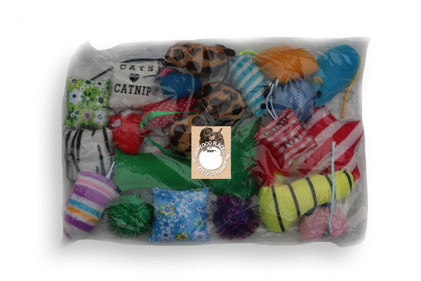 Catnip Grab Bag (24 Toys) or Starter Pack