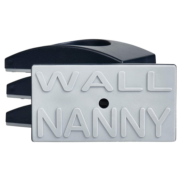 Wall Nanny - Baby Gate Wall Protector (Made in USA) Protect Walls & Doorways from Pet & Dog Gates - for Child Pressure Mounted Stair Safety Gate - No