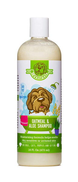 Mynetpets Oatmeal and Aloe Dog & Puppy Shampoo. Soap Free, Hypoallergenic Luxury Medicated Formula from Moisturizes and Helps Soothe Dry, Sensitive, I