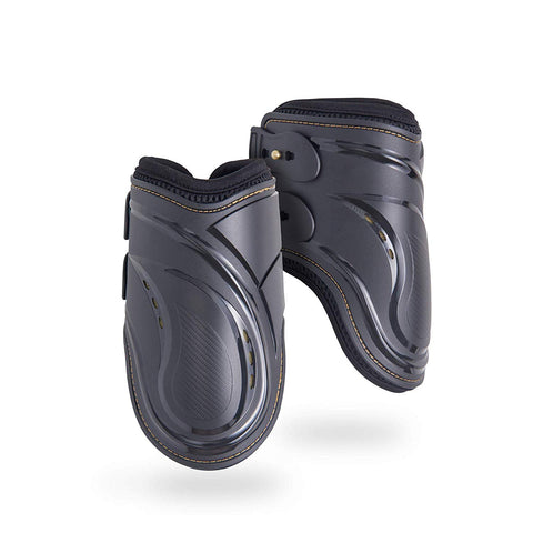 Kavallerie Fetlock Boots for Horses Pro-K 3D Air-Mesh Showjumping, Horse Jumping Fetlock Boots, Lightweight with Breathable Soft Padding for Less Swea