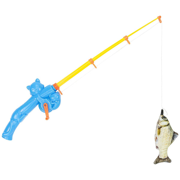 CAT Fishing Rod! Interactive Cat and Kitten Toy Perfect Gag Cat Person or Fisherman Gift Hilarious Funny Cat Themed Novelty
