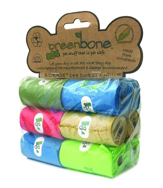 Greenbone Waste Bag Refill Pack, 12 Rolls