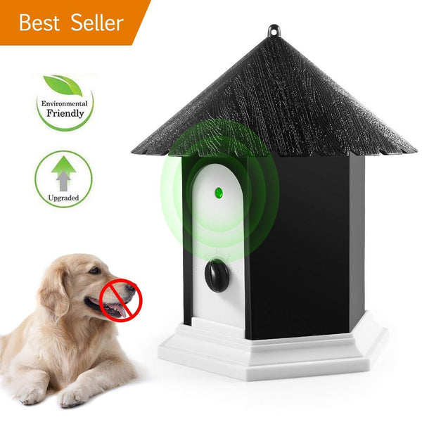 instecho Anti Barking Device, Ultrasonic Anti Barking, Sonic Bark Deterrents, Bark Control Device, Dog Bark Contrl Outdoor Birdhouse